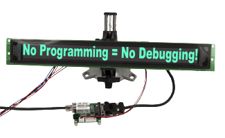 No programming = no debugging!